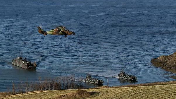 US emphasises military commitment to Europe during NATO war games