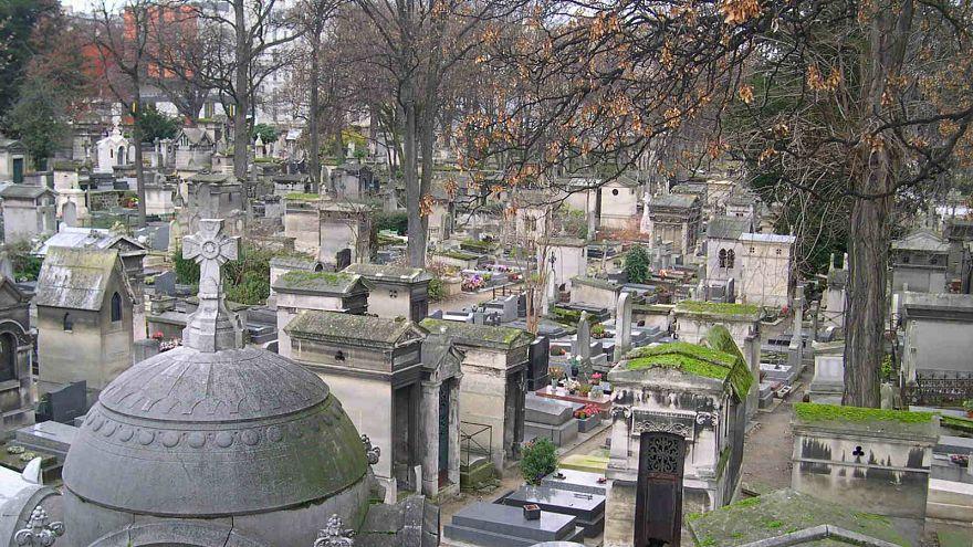 Le cimetière de Montmartre à Paris