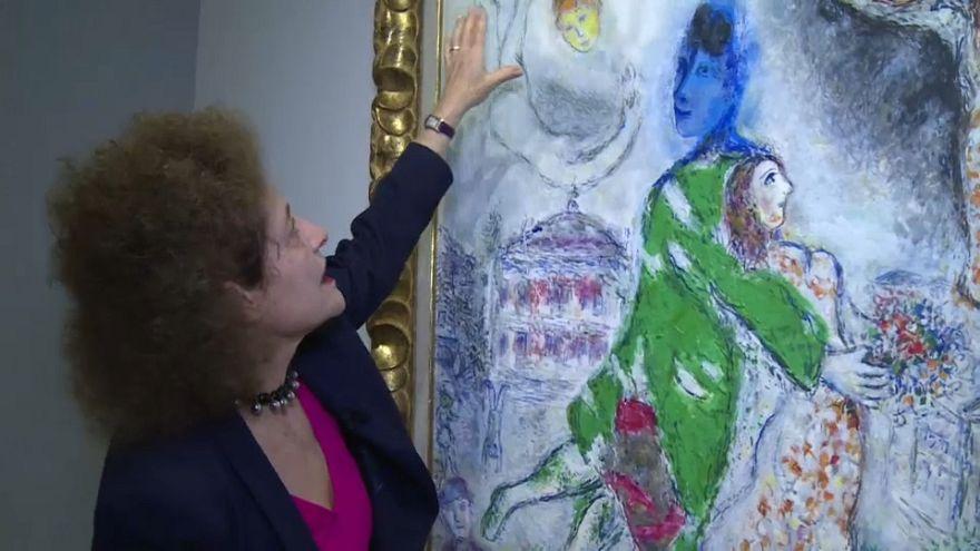 Chagall : sculpteur de couleurs