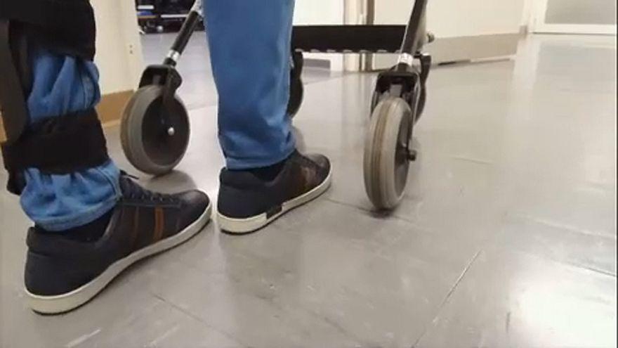 Endlich wieder gehen: Elektrostimulation hilft Gelähmten