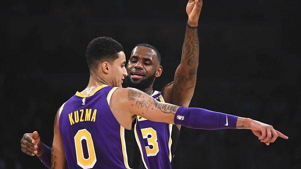 NBA: hajszálon múlt a Lakers sikere