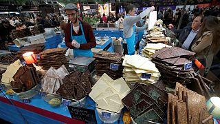 شکلات خوردنی و پوشیدنی در نمایشگاه پاریس