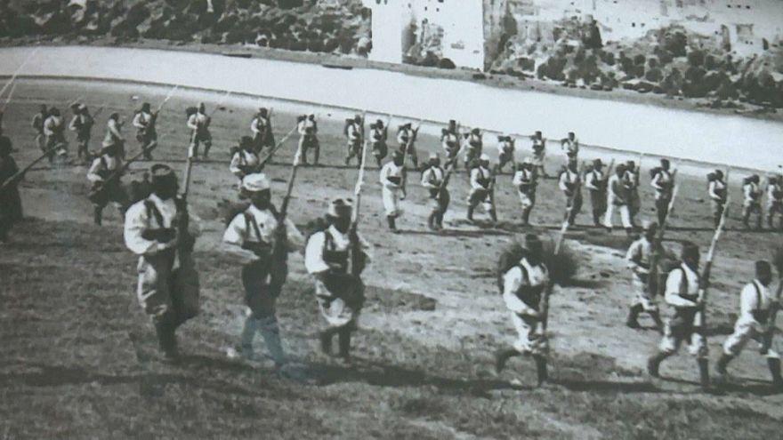 شاهد: تخليد ذكرى مشاركة جنود المغرب في الحرب العالمية الأولى