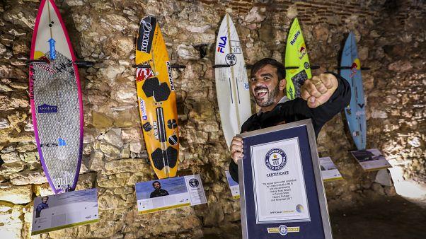 Rodrigo Koxa de volta à Nazaré com novo recorde em vista