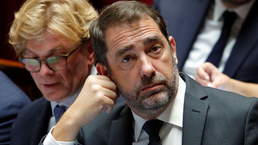 French Interior Minister Christophe Castaner