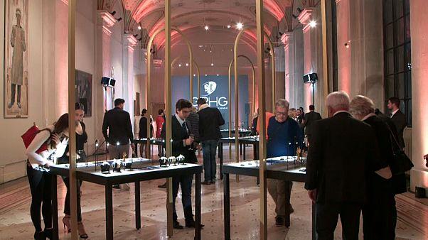 Pequeñas obras de arte con agujas en el  Gran Premio de Relojería de Ginebra