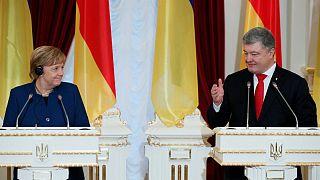 Merkel: visita-lampo in Ucraina