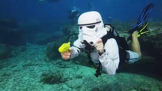 Víz alatti Halloween Floridában