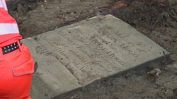 A Londres, des milliers de tombes découvertes sur le tracé de la High Speed 2