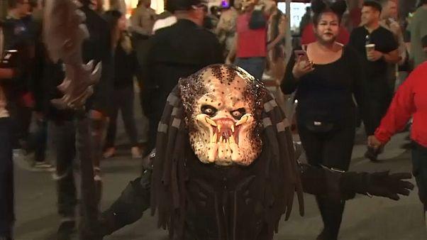 Хеллоуин в Голливуде