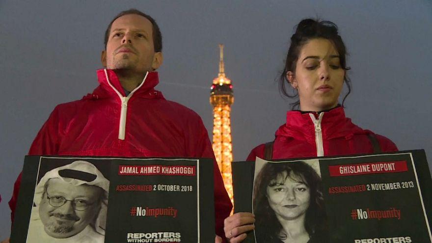 Ghislaine Dupont, Claude Verlon, Jamal Khashoggi : non à l'impunité