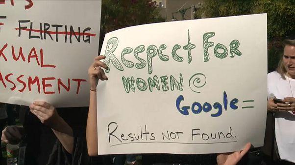 Empregados da Google protestam contra assédio sexual