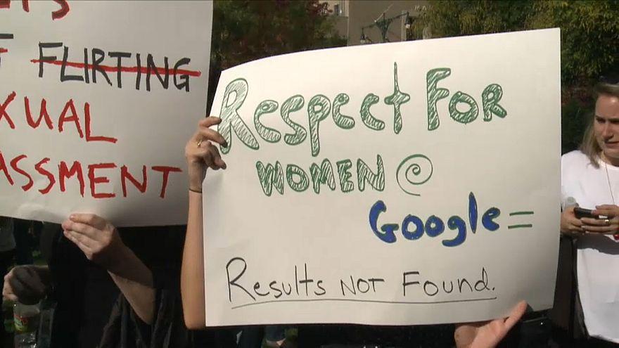 Le vessazioni sessuali anche a Google, i dipendenti in piazza