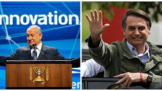 استقبال نتانیاهو از تصمیم بولسونارو برای انتقال سفارت برزیل به بیتالمقدس