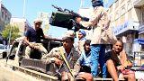 Hudeyde'de sokak çatışmaları yüzünden siviller iki ateş arasında