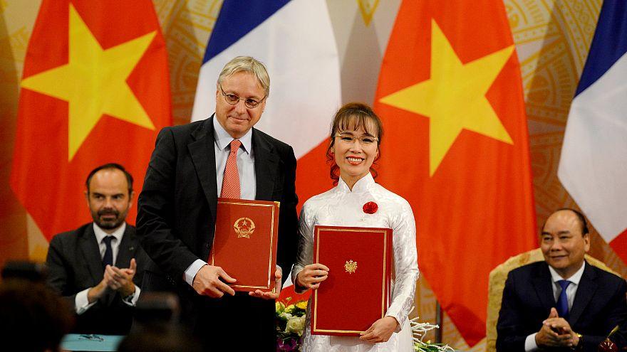 Le Vietnam, terre de contrats pour Airbus et la France