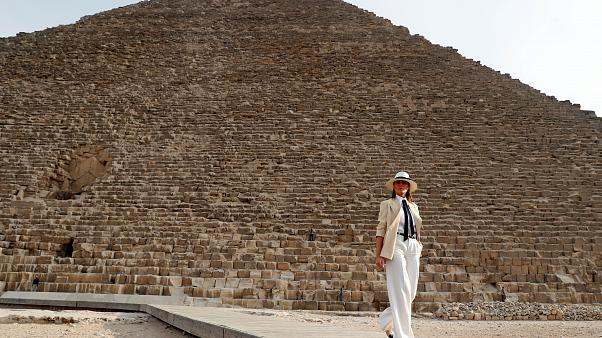 ميلانيا ترامب أنفقت 95 ألف دولار مقابل ليلة لم تقضها بالقاهرة