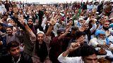 El líder de protestas islamistas contra la cristiana absuelta llama a la huelga general en Pakistán