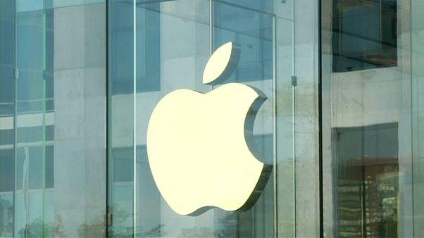 Акции Apple подешевели