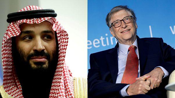 بيل غيتس يعلق التعاون مع ولي العهد السعودي على خلفية مقتل الصحافي جمال خاشقجي