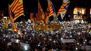 Catalogne :  jusqu'à 25 ans de prison requis contre les chefs indépendantistes