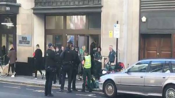 Two stabbed and one arrested at incident at London's Sony HQ