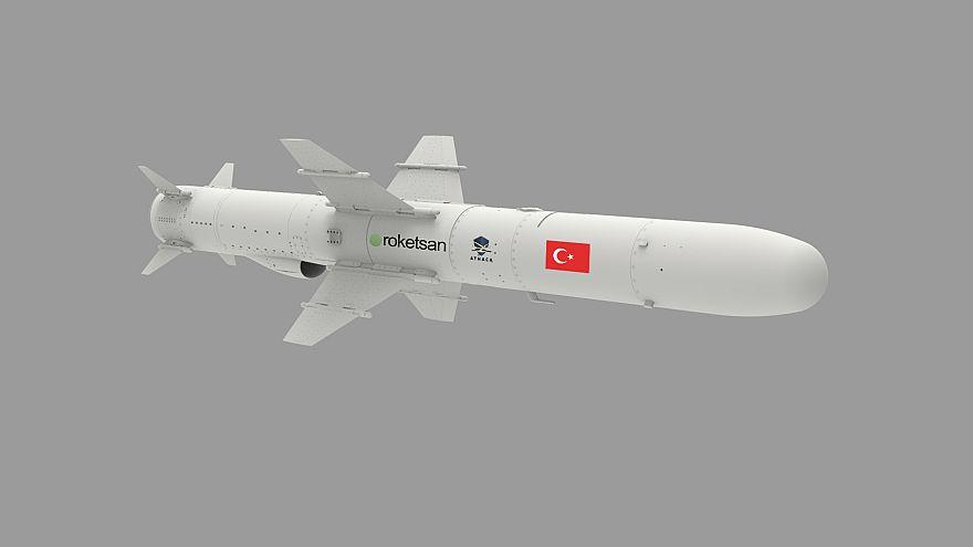Türkiye'nin ilk deniz füzesi ATMACA