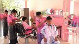 Ab 15 Cent: Kids schneiden Kids die Haare