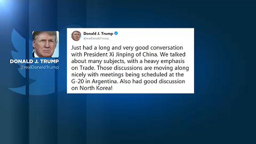 Los mercados reaccionan ante la mejora de las relaciones entre EEUU y China