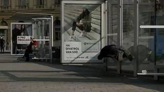 Protesta en Hungría por la ley contra los sintecho