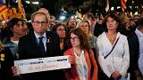 Lesser charges for Catalan separatists