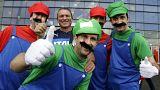 A kép illusztráció - olasz fociszurkolók a 2016 foci-Eb-n