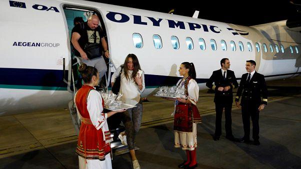 Direct flights resume between FYR Macedonia and Greece