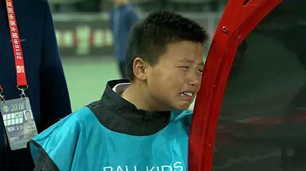 Guizhou Zhicheng, o inconsolável rapaz que não aguentou a derrota