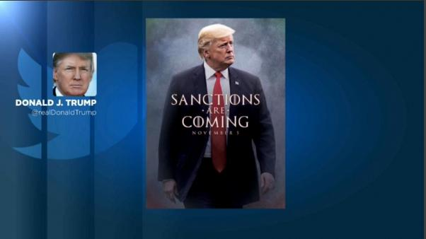 'Sanctions are coming' y otras amenazas de Trump a Irán