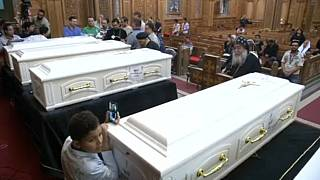 So-called Islamic State say they shot dead seven Christians in Egypt
