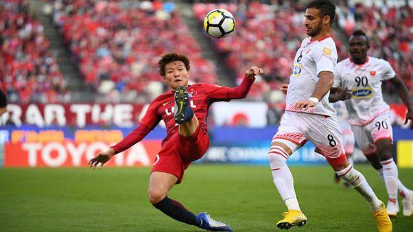 پرسپولیس بازی رفت فینال آسیایی را به کاشیما باخت