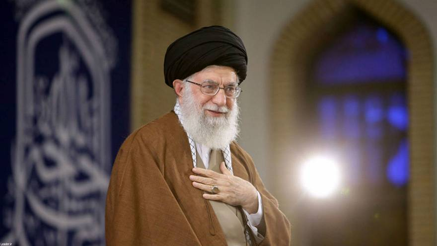 Iran's supreme leader says the world opposes Trump's decisions