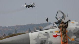 تحطم مقاتلة روسية من طراز ميغ 29 ونجاة طيارها المصري