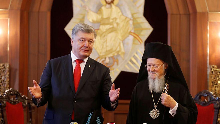 Επίσκεψη Ποροσένκο στο Φανάρι-«Δικαίωμα των Ουκρανών η αυτοκεφαλία» δήλωσε ο Οικουμενικός Πατριάρχης