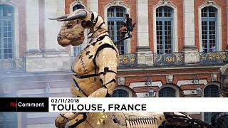 Riesenwesen in Toulouse