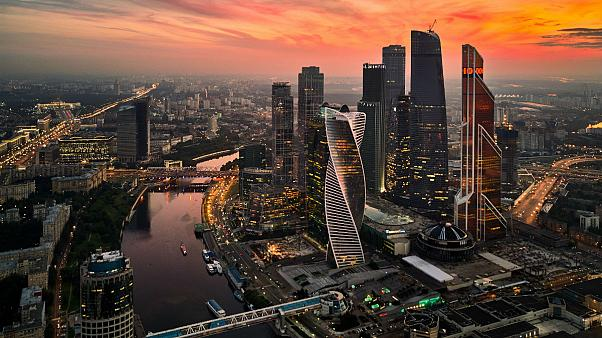 وسط مدينة موسكو