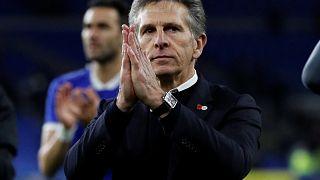 Claude Puel, allenatore del Leicester.
