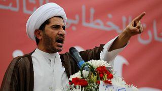 شیخ علی سلمان، رهبر گروه شیعه جمعیت وفاق ملی، مخالف حکومت بحرین