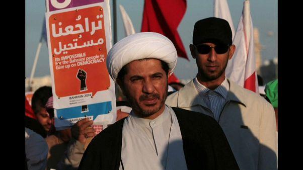 الشيخ علي سلمان الأمين العام لجمعية الوفاق المعارضة