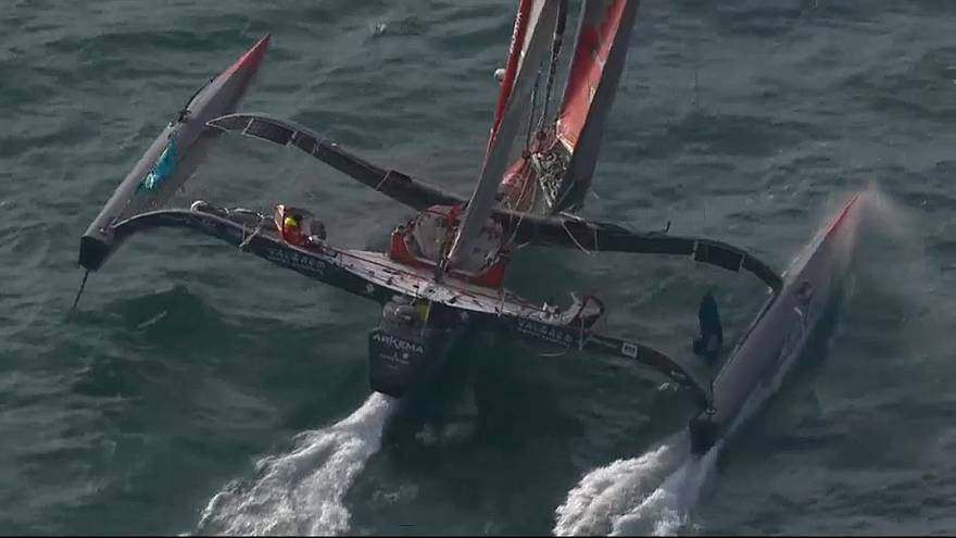 Route du Rhum : un sprint d'enfer