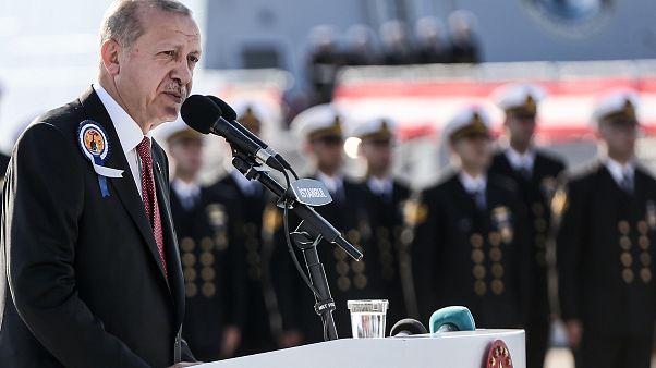 Erdoğan'dan Doğu Akdeniz ve Ege açıklaması: Denizlerdeki haydutlara meydanı bırakmayacağız