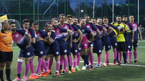 Brazil's LGBT soccer league kicking homophobia to the curb