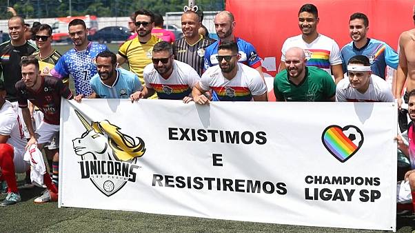 Brésil : la LiGay, le football pour tous