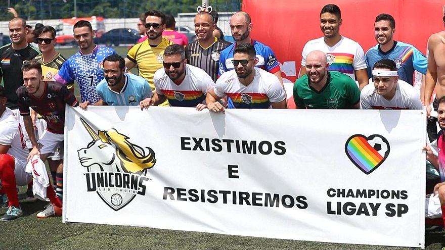 LGBT üyelerinin organize ettiği futbol turnuvası: LiGay